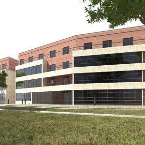ساختمان جدید پارک